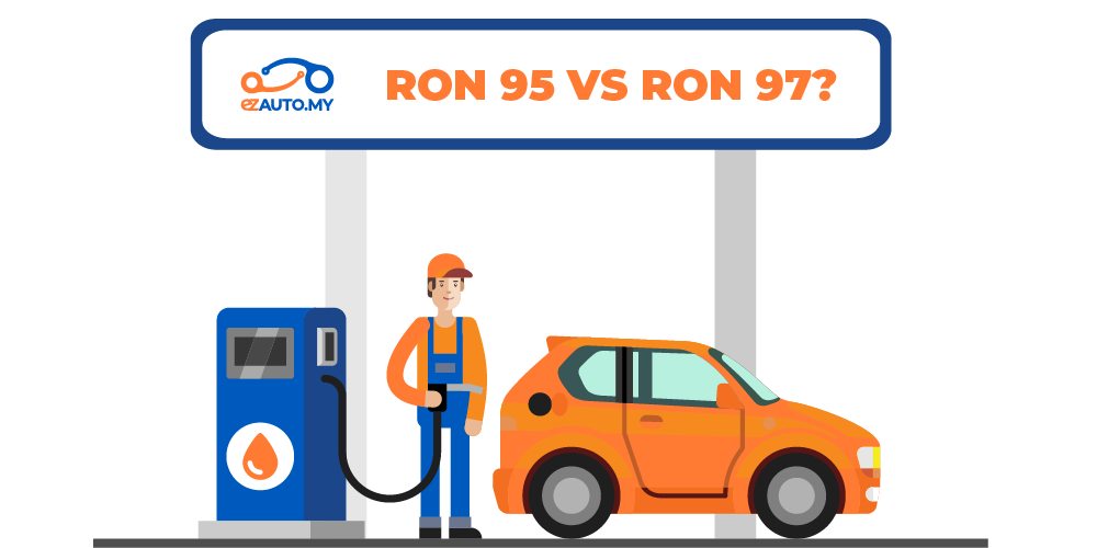 what is the difference between ron95 and ron97 petrol?